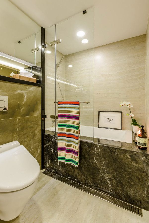 A 40 Year Old Apartment In Taipei Gets A Modern Intervention Apartment Renovation Old Apartments Contemporary Bathrooms