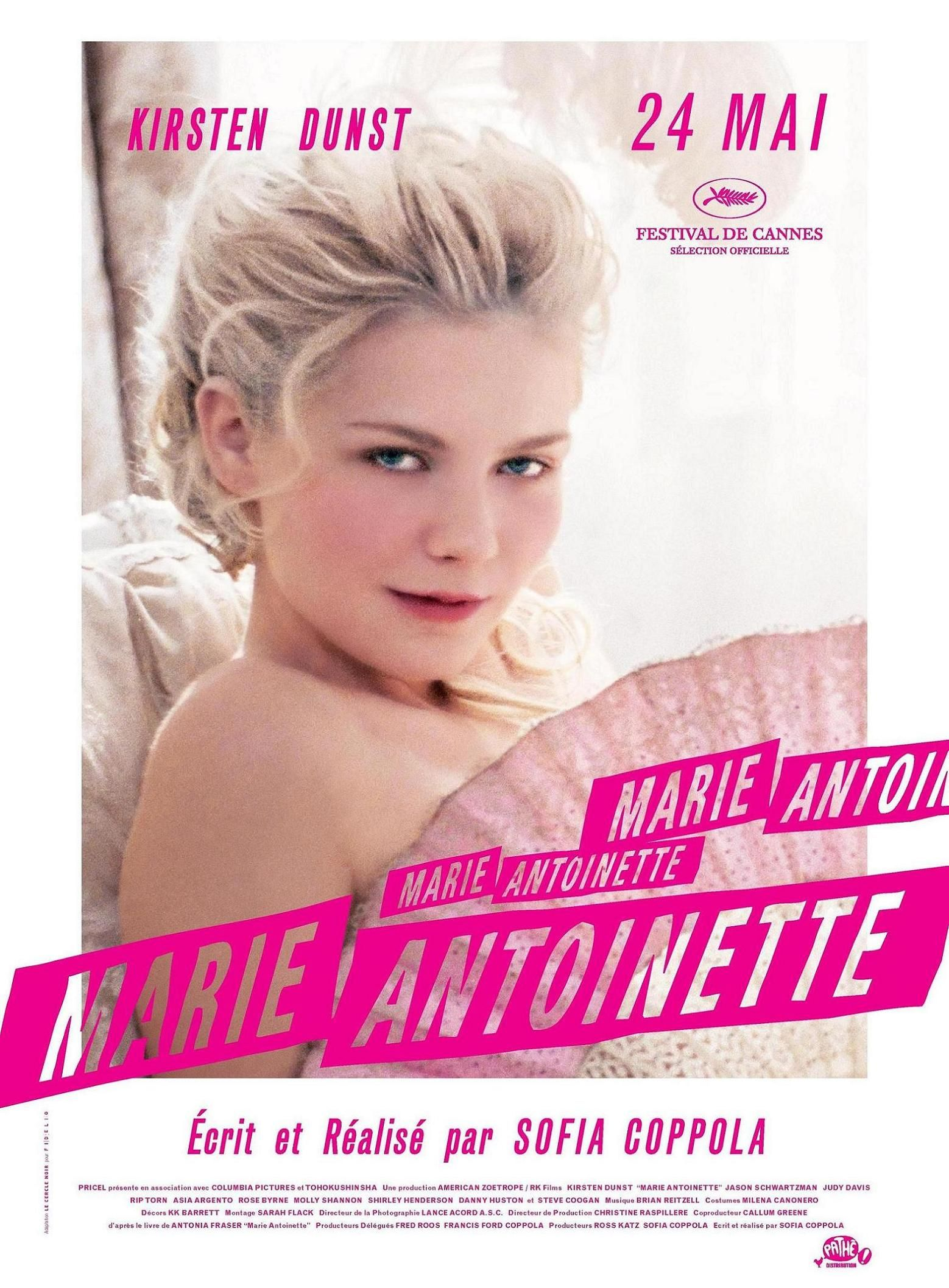 Marie Antoinette French movie poster | Peliculas, Carteleras de ...