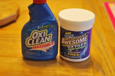 Homemade Oxiclean Cleaners Homemade Cleaner Recipes Oxiclean
