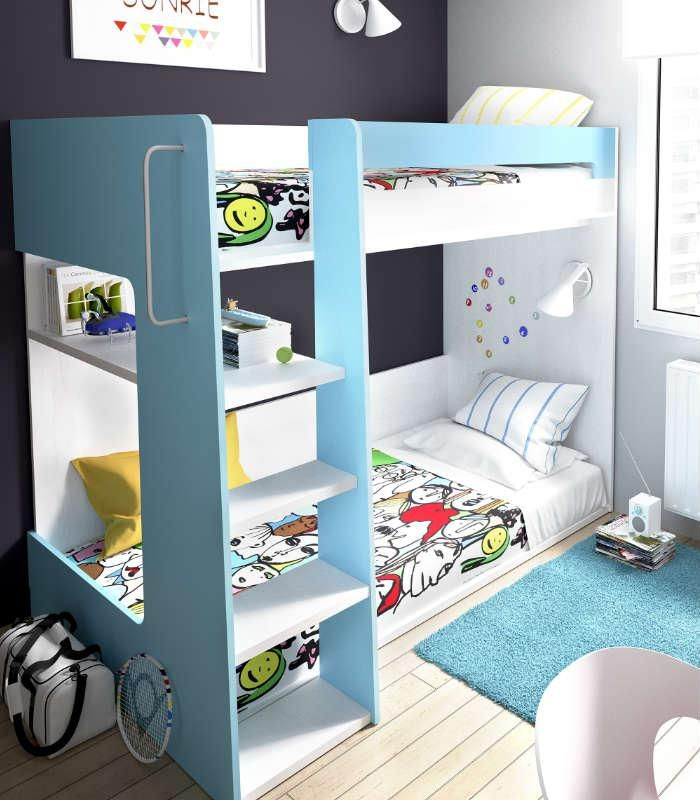 S cale partido a las habitaciones peque as literas modernas y funcionales para espacios - Literas para habitaciones pequenas ...