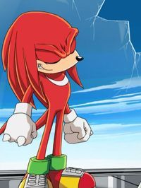 knuckles the echidna sonic x   Rad Red Lovers!   Pinterest ...
