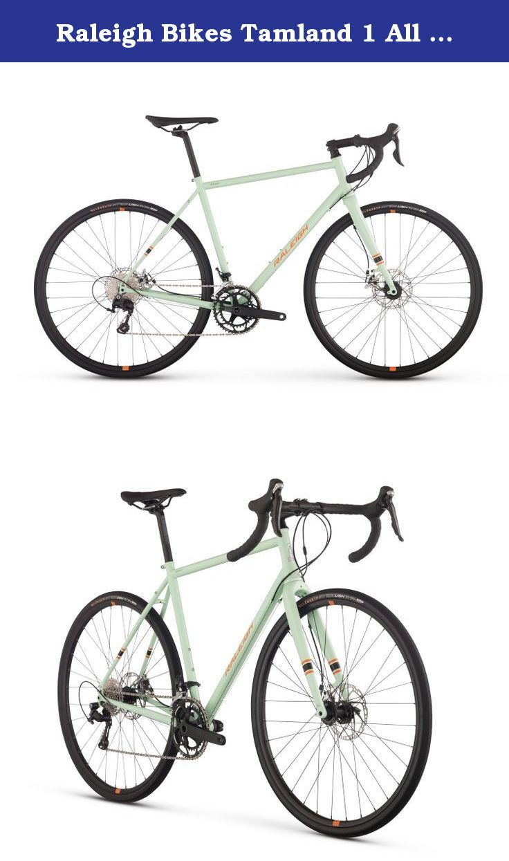 Raleigh Bikes Tamland 1 All Road Bike Green 54 Cm Small Ready For The Discernin Commuter Bike Raleigh Bikes Bike
