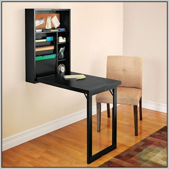 Wall Mounted Collapsible Desk   Collapsible desk, Folding desk design, Wall mounted desk