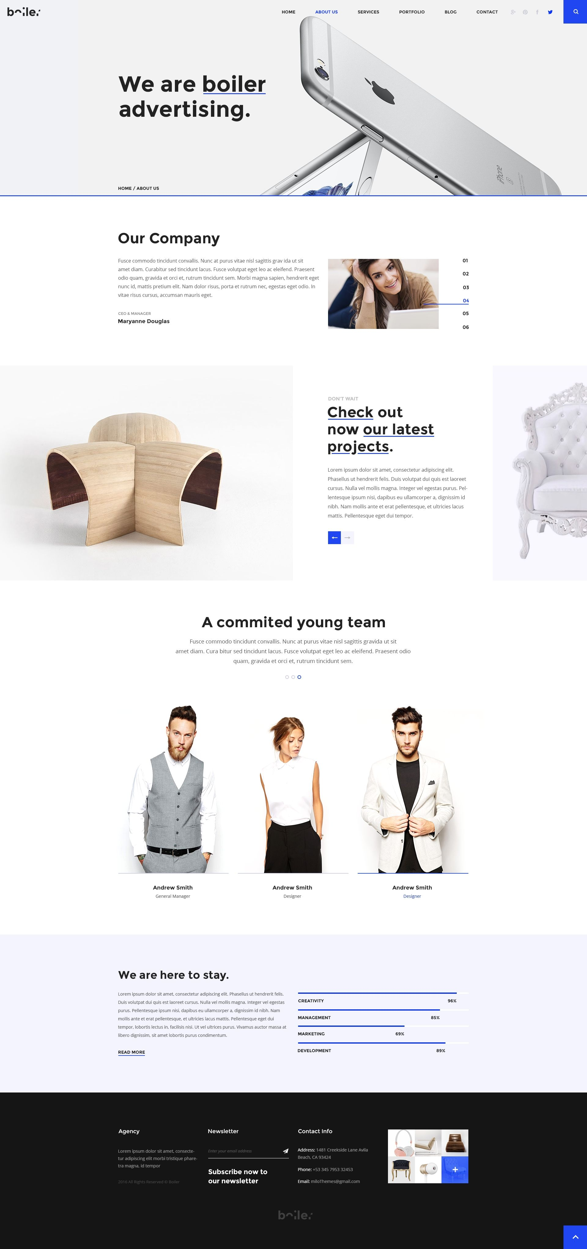 Pin by Milo Themes on HTML5 Templates by Milothemes