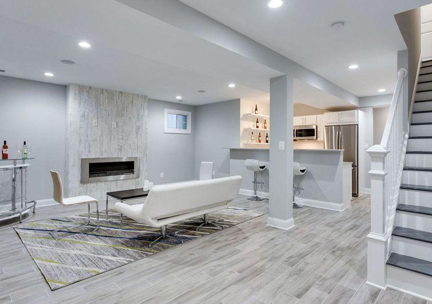 Modern Basement Living Room Basement Remodeling Ideas Home Decor Studio Basement Living Rooms Modern Basement Basement Remodeling