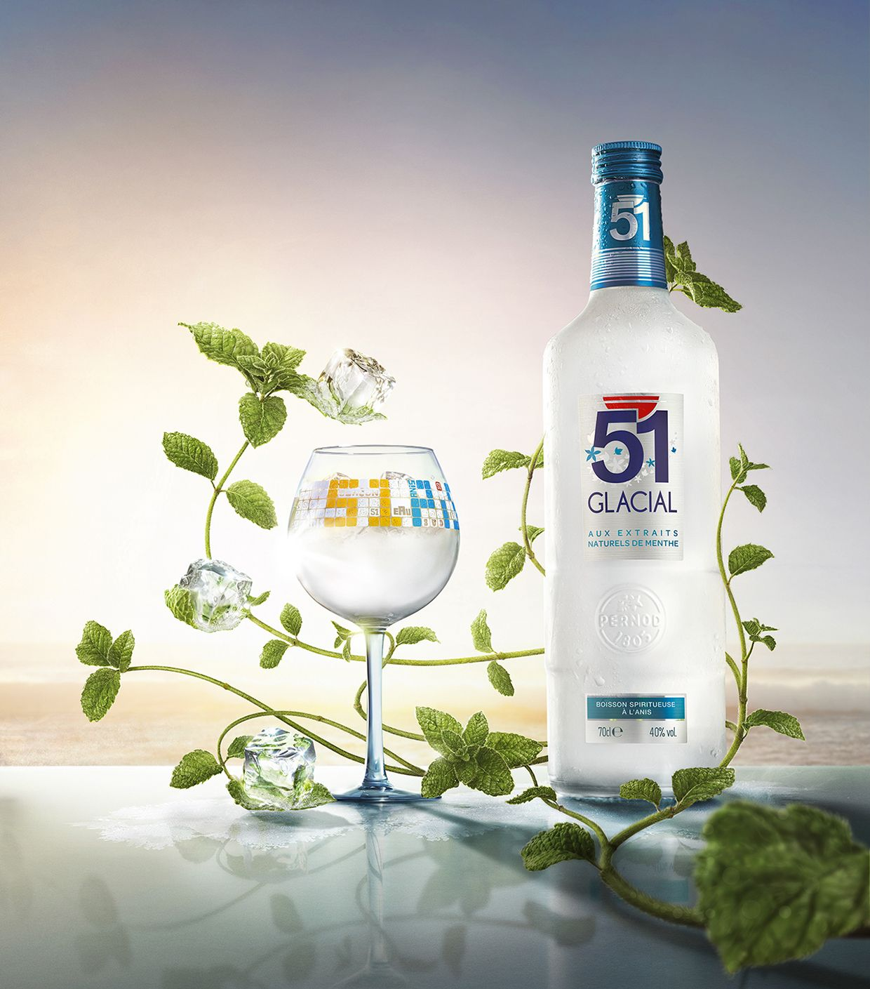 Pastis Glacial on Behance