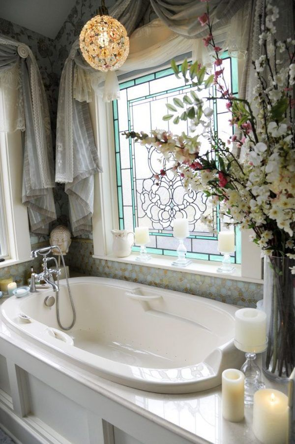 Stained glass decor Pinterest Glass, Interiors and House