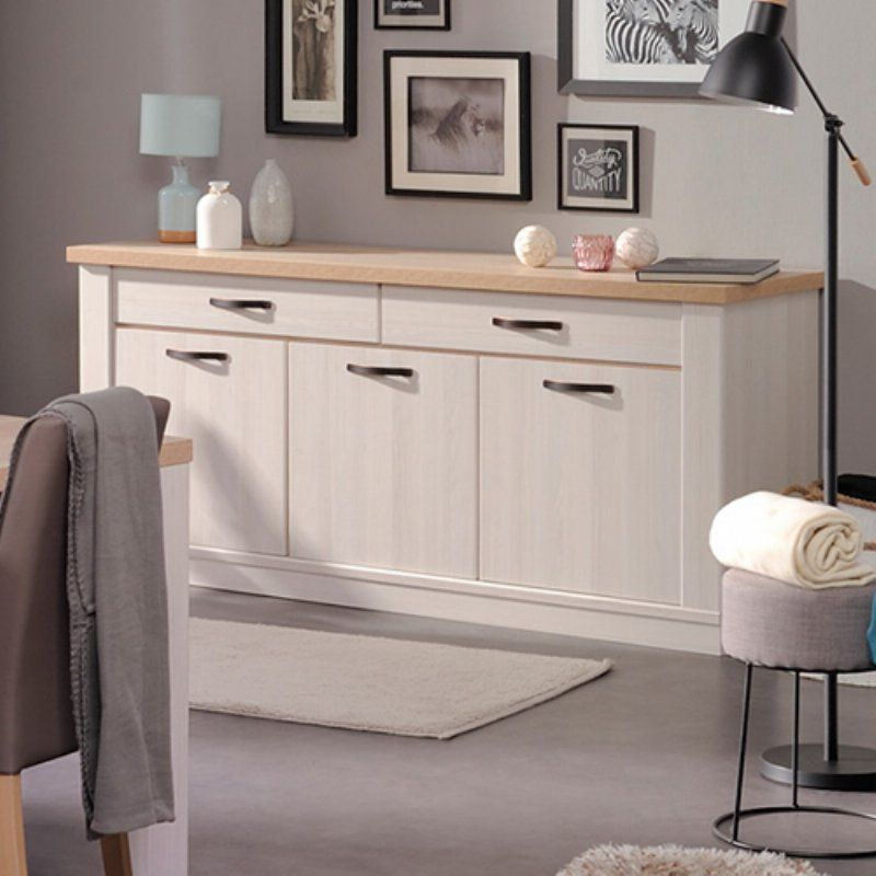 Parisot Craft 3 Door Sideboard Sideboard Furniture Furniture