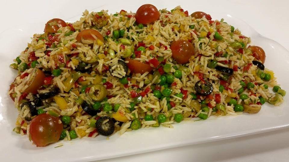 سلطة الأرز Egyptian Food Bowls Recipe Food