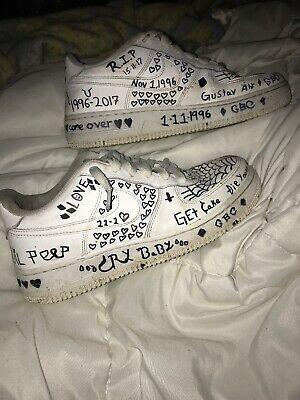 Lil Peep Af1s Fashion Clothing Shoes Accessories Unisexclothingshoesaccs Unisexadultclothing Ebay Lil Peep Hoodie Custom Painted Shoes Lil Peep Hellboy
