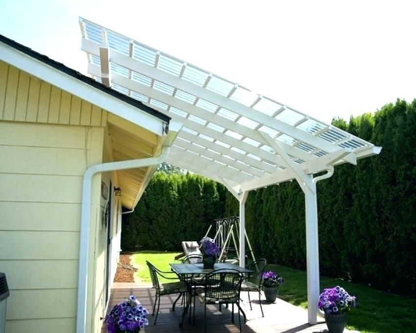 Pergola Roofs Clear Pergola With Roof Clear Roofing Sheets