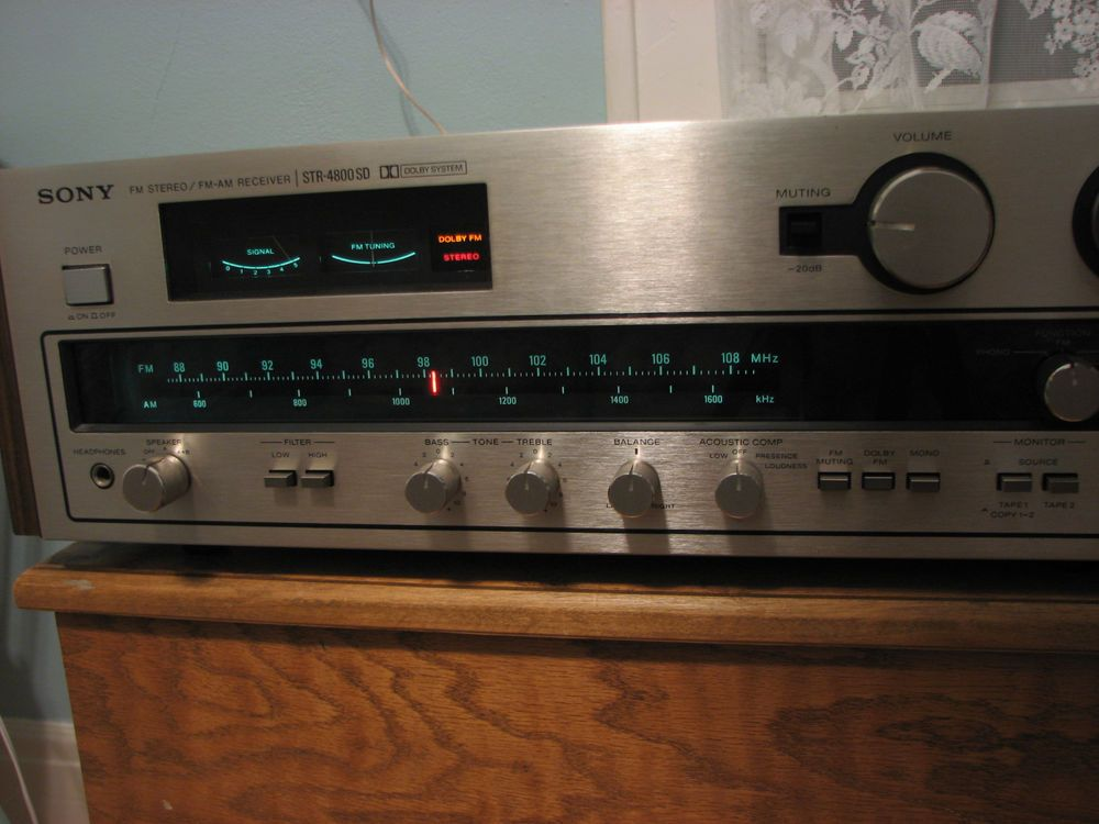 Betere Vintage 1970's Sony STR 4800SD Stereo Receiver Amplifier in 2019 CK-68