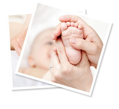 Research has shown that gently massaging premature babies ...