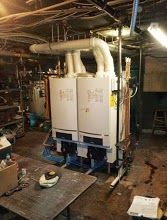 Buderus Gas Fired Boiler Commercial Job Convert From Oil To Gas