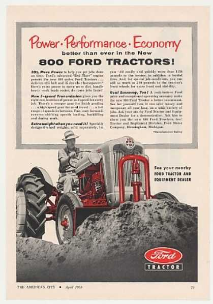 1950 ford tractor hay baler ad | Vintage Industry Ads of the 1950s (Page 62)