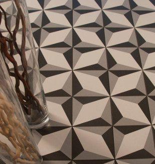 20x20 d cor k rocim illusion gris rose des vents deco maison tiles illusions et tile patterns. Black Bedroom Furniture Sets. Home Design Ideas