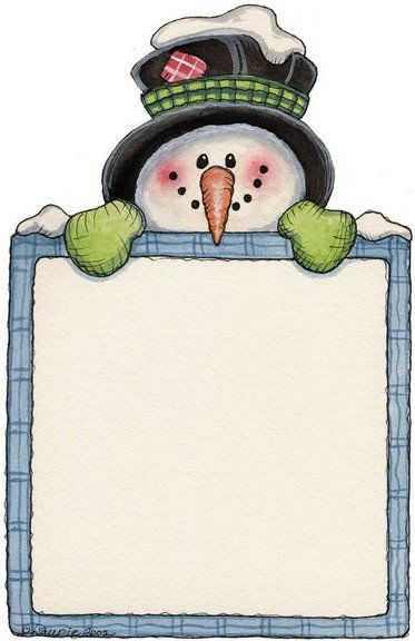 Pin by Ruth Novy on Borders Pinterest Snowman, Clip art and