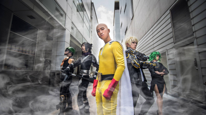 Saitama Workout Results - No One-Punch Man Cosplay Will Ever Top This | One punch ...
