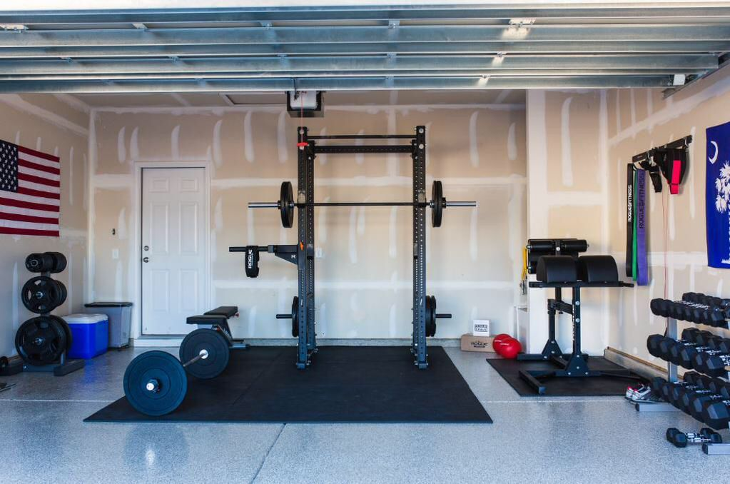 Home gym by Rogue Fitness Home gym