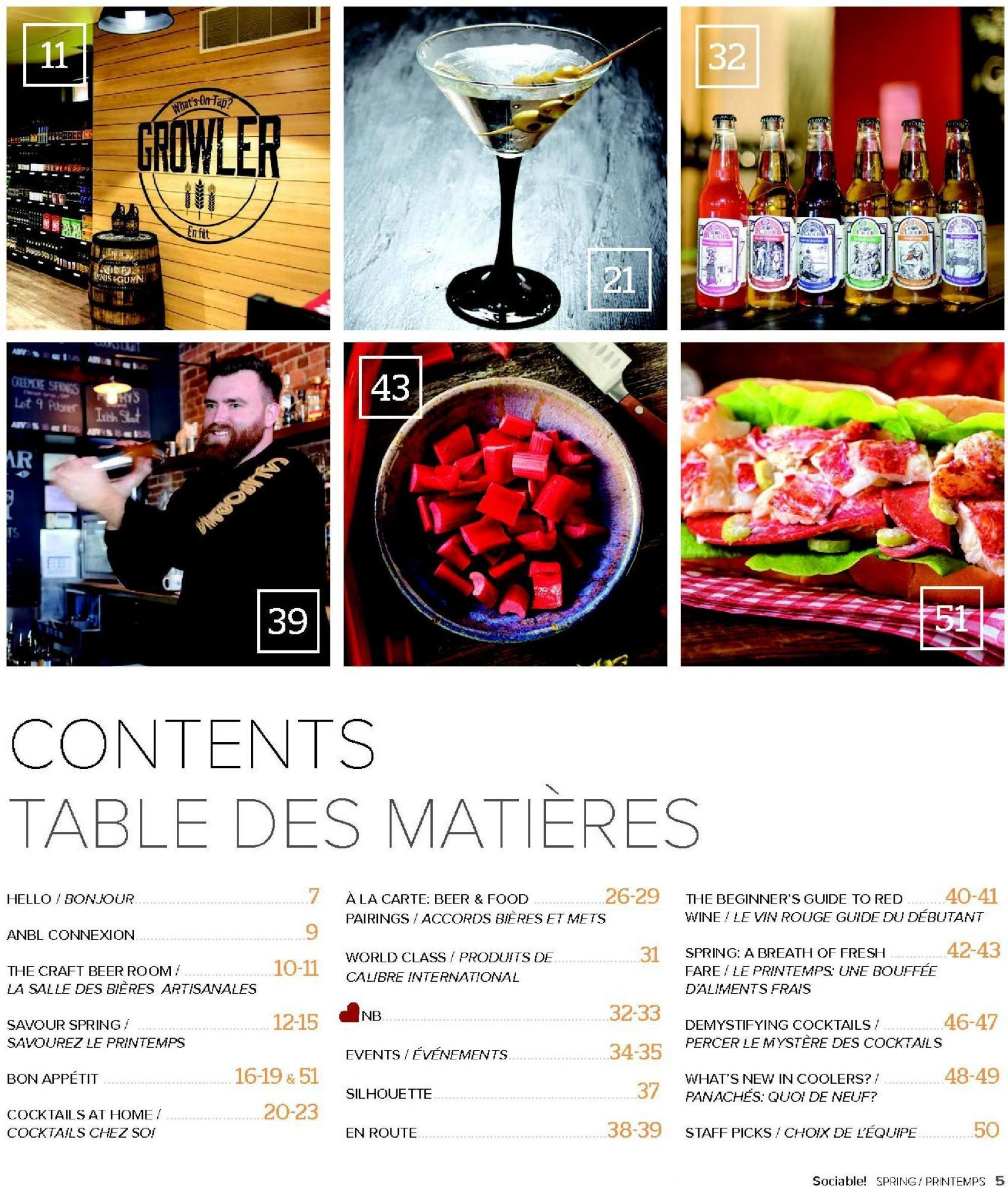 Flyer Alcool Nb Liquor Sociable Spring 2018 Magazine Canada From Tuesday May 1 2018 To Saturday June 30 2018 Flyer Beer Room Beer Recipes