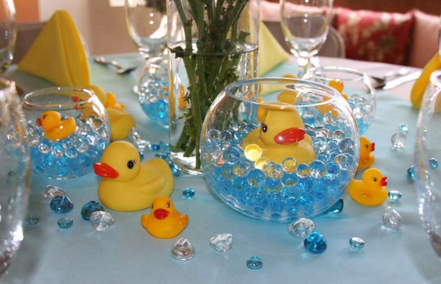 Rubber Ducky Baby Shower Centerpiece Ideas Baby Shower Pinterest