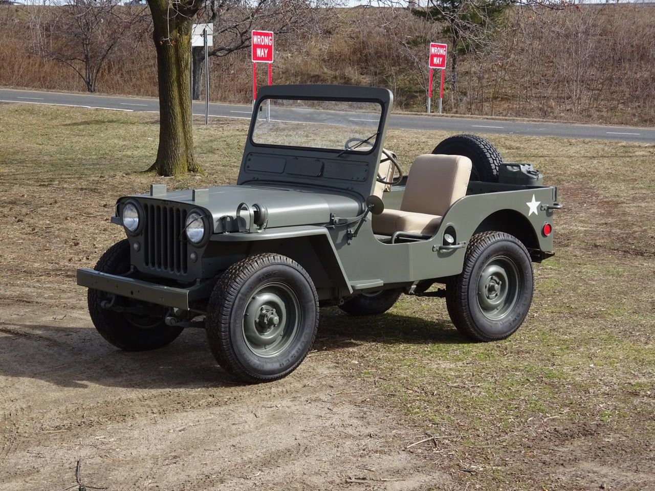 No Reserve 1949 Willys Cj 3a Willys Classic Cars Online Jeep
