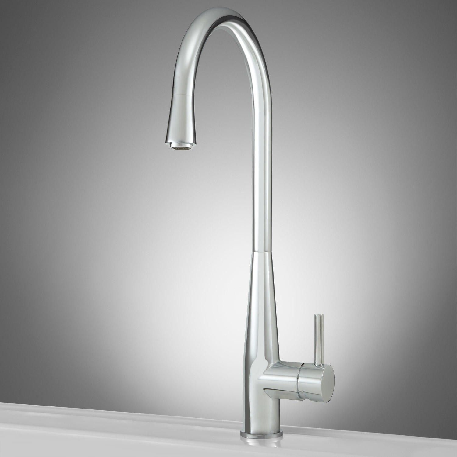 Allure Faucet in Brushed Nickel Finish