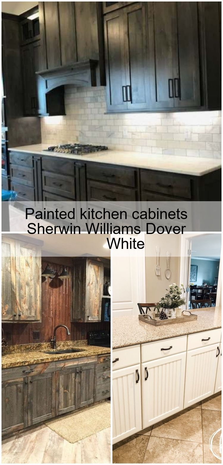 Painted Kitchen Cabinets Sherwin Williams Dover White Cabinets Dover Kitchen Painte In 2020 Sherwin Williams Dover White Painting Kitchen Cabinets Kitchen Paint