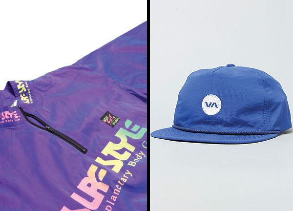 Channeling the SurfStyle days, RVCA brings the Dot Trucker hat.