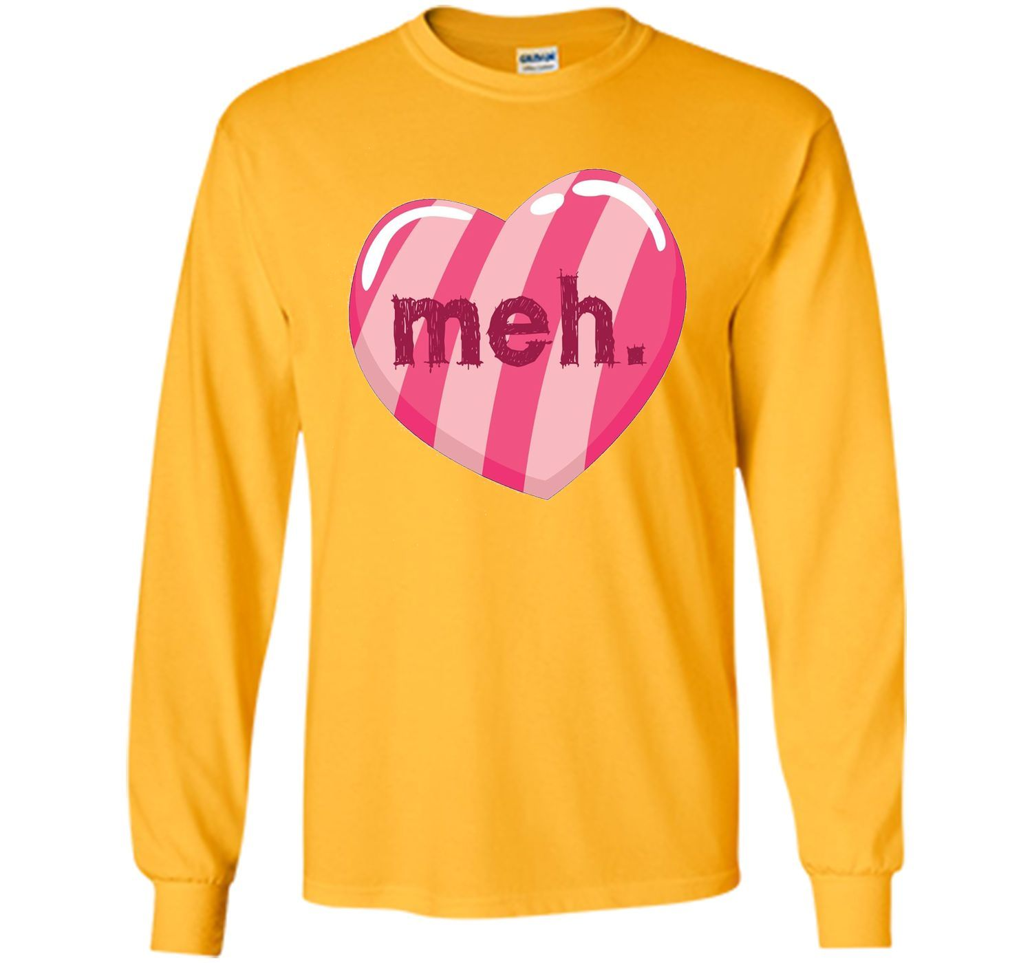 funny anti valentines day heart shirt meh