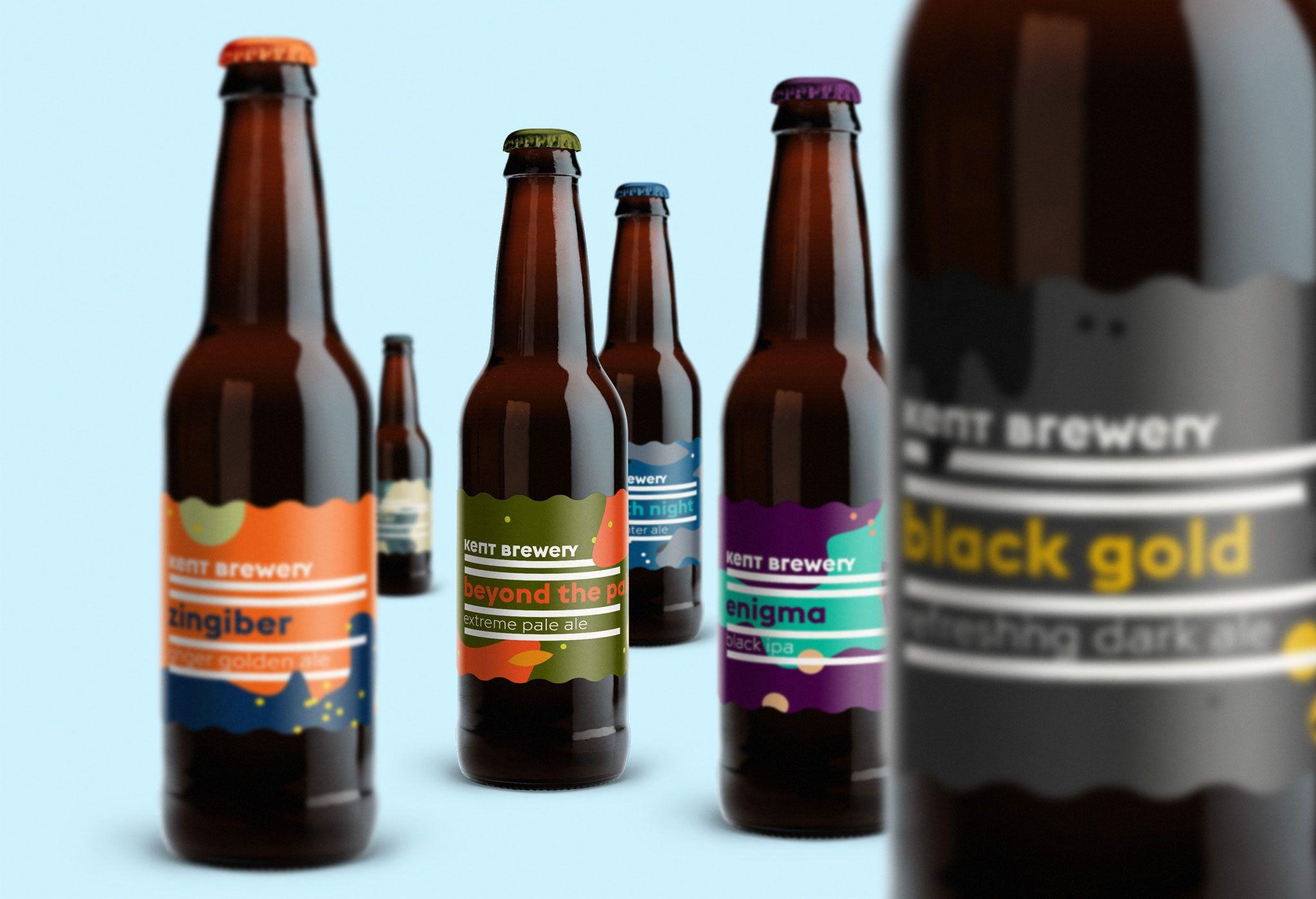 Kent Brewery Brewery Beer Packaging Beer