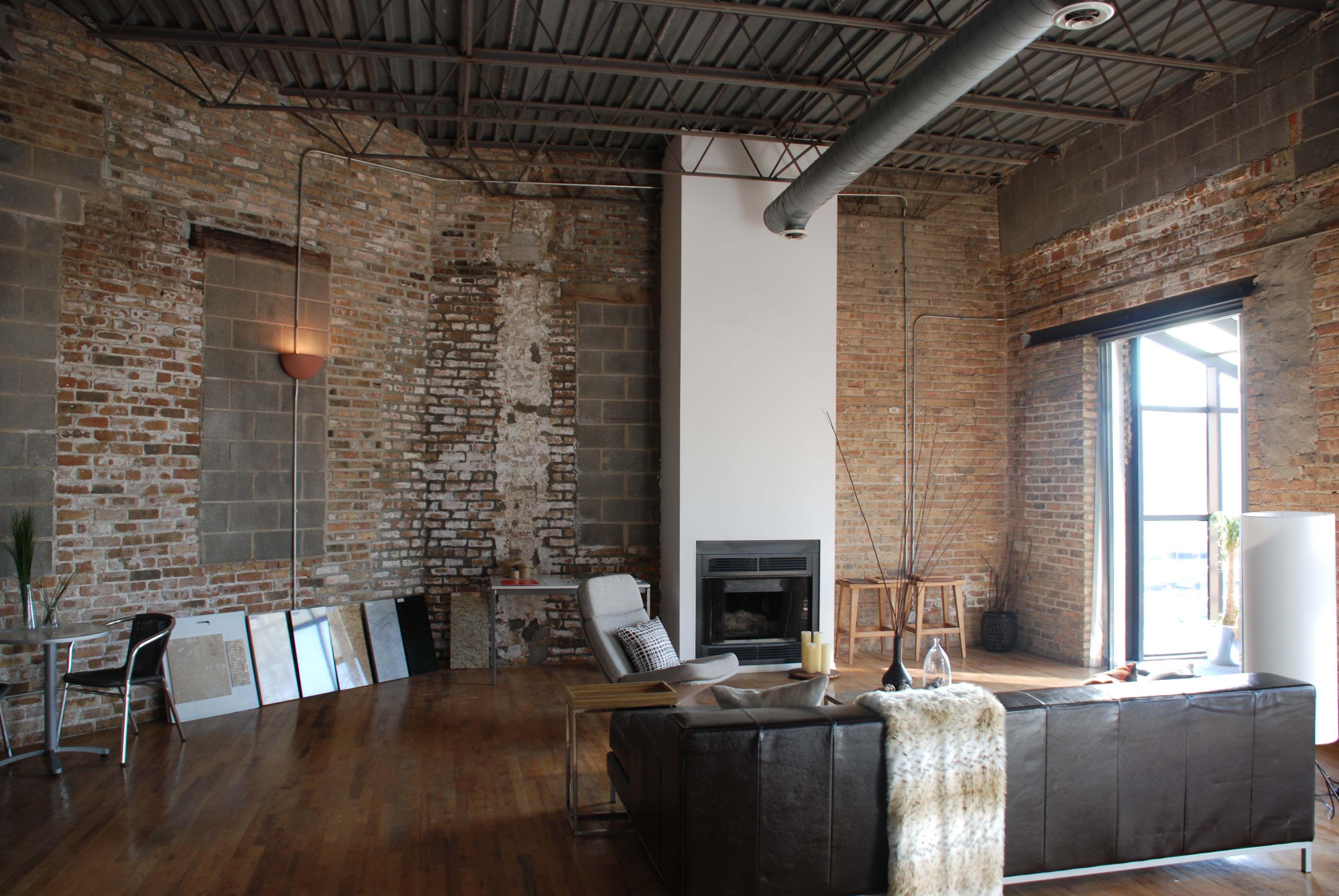 exposed brick walls lofts warehouse houses pinterest lofts