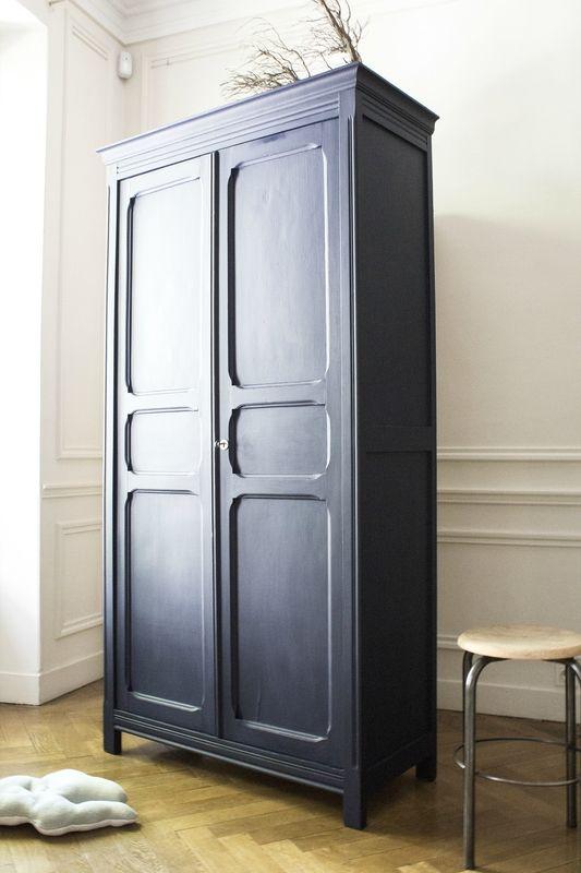 Armoire parisienne bleue chambre enfant TRENDY LITTLE 4 | Chambres ...