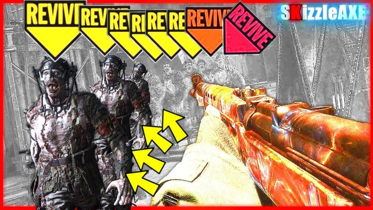 15+ zombie bosses WORLD RECORD - Best gun in COD WW2 - Call
