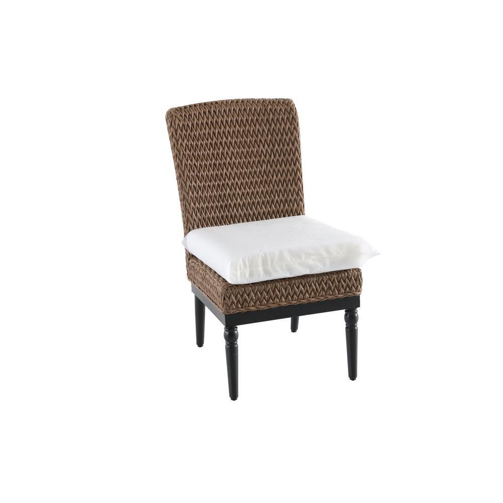Cool Home Decorators Collection Camden Light Brown Wicker Outdoor Creativecarmelina Interior Chair Design Creativecarmelinacom