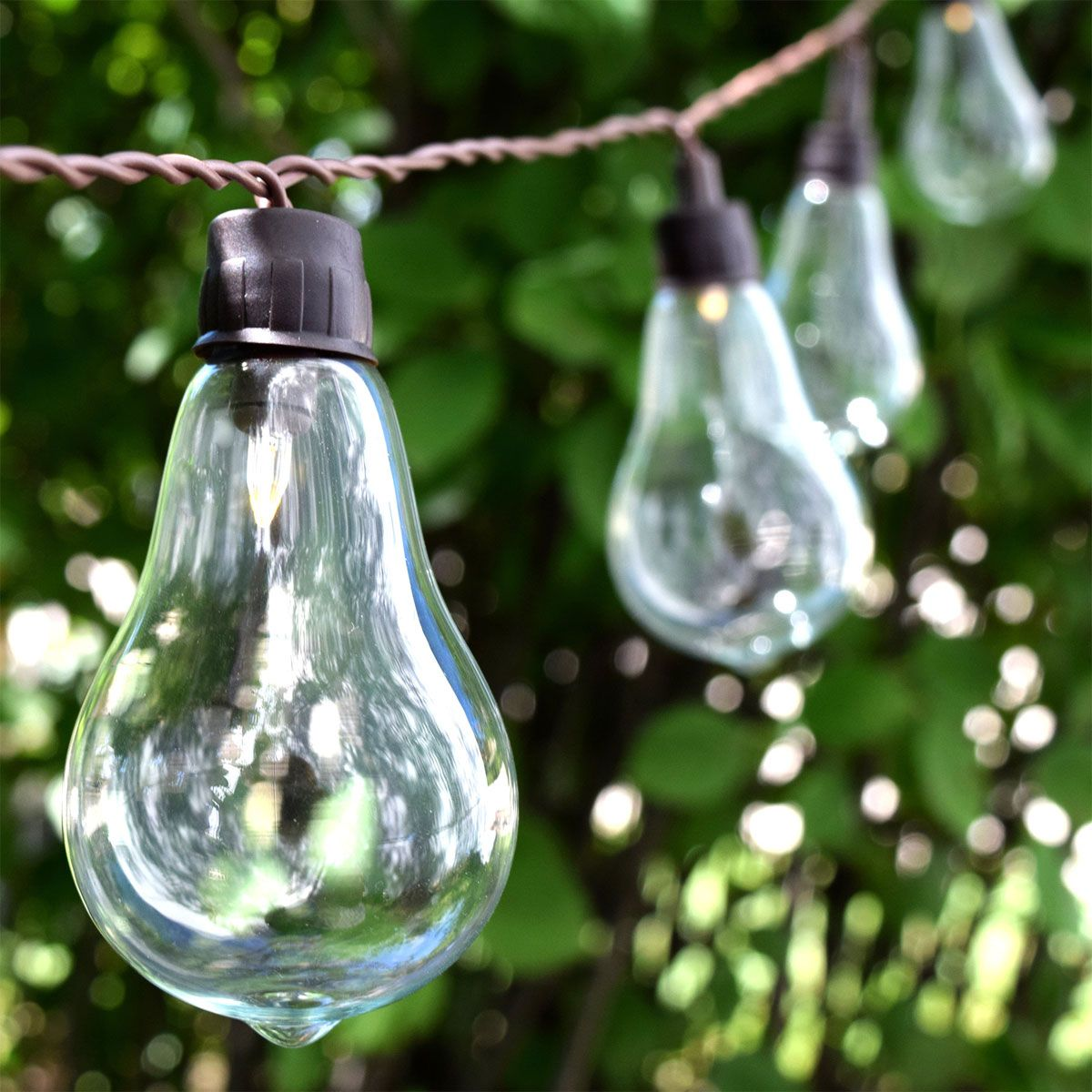 LED Solar Powered String Lights