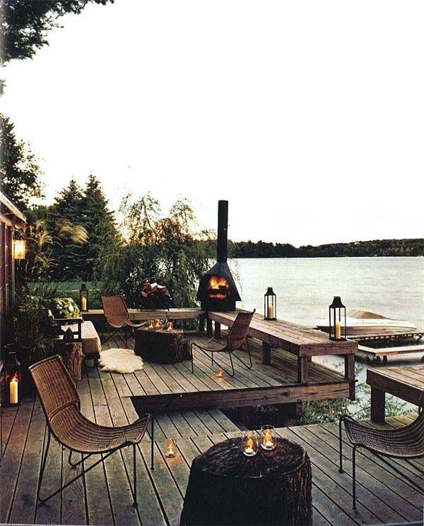54 Cool and relaxing outdoor living spaces to welcome summer   Pinterest