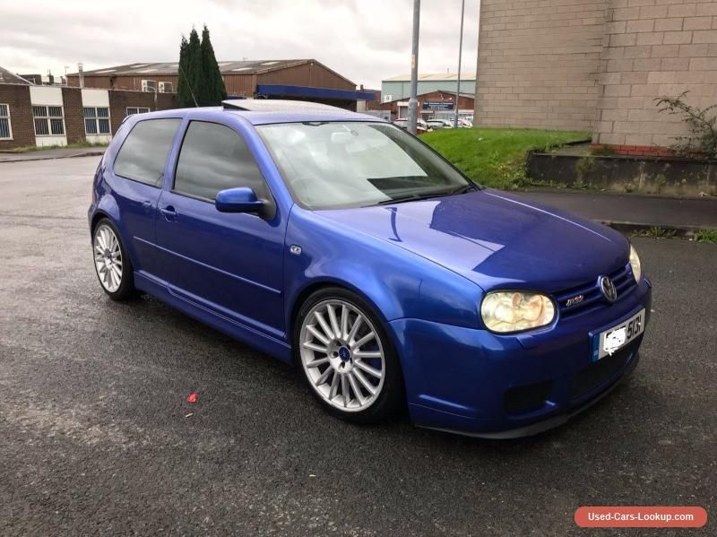 2003 vw golf mk4 r32 in blue 73k miles mint vwvolkswagen. Black Bedroom Furniture Sets. Home Design Ideas