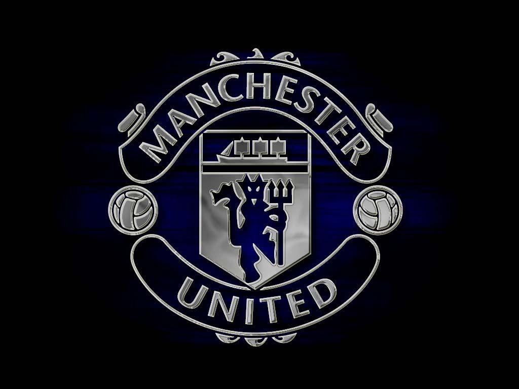 Dark Manchester United Logo Wallpaper Manchester United