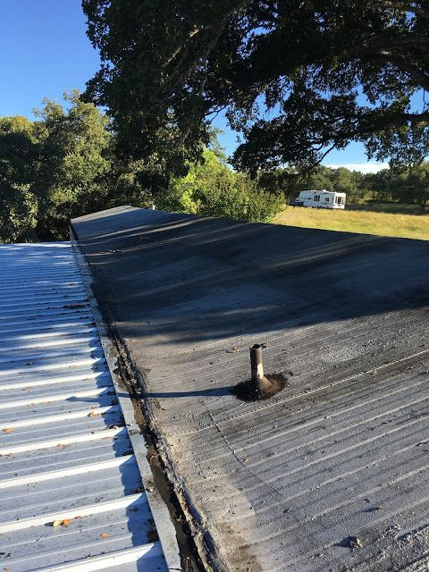 Rustic Gems In Texas New Roof Mobile Home Roof Mobile Home Renovations Roof