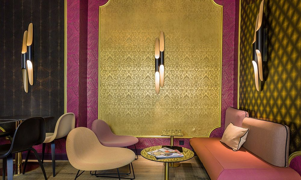 Idol Hotel | Projects | Arte wallcovering | ID COMMERICAL | Pinterest