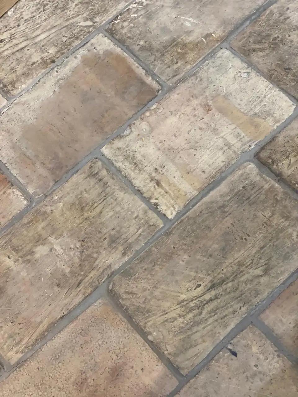 18th Century Antique Terracotta Flooring In 2020 Rustic Tile Floor Flooring Stone Kitchen Floor
