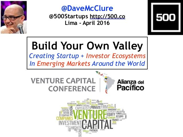 Build Your Own Valley: Engineering Startup & Investor Ecosystems in E…