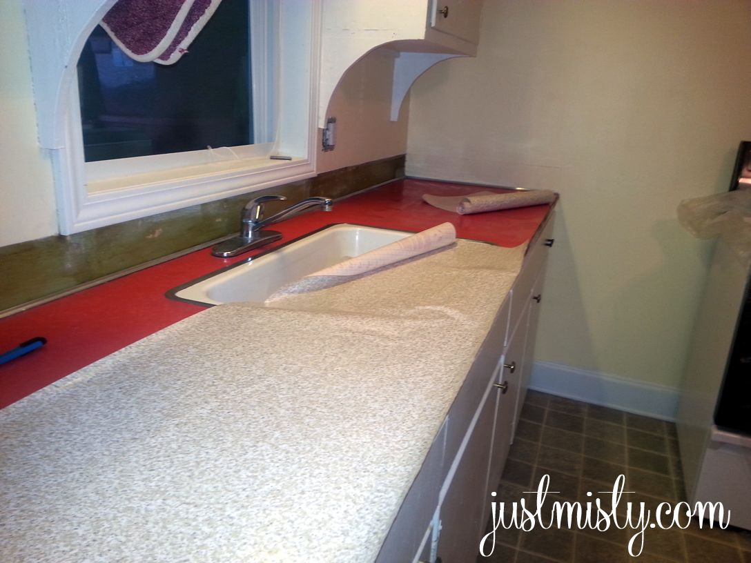 Delightful Kitchen DIY Redo Your Laminate Or Formica Counter Tops With Contact Paper