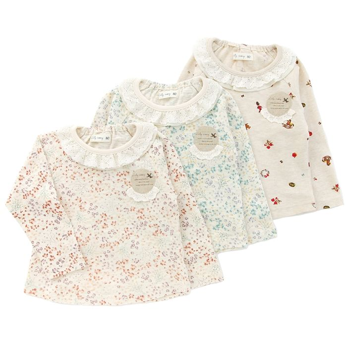 ff762636e6f35 ... ブランド-ベビー服・子供服通販のキムラタンオンラインストア. k さんのボード「子供服」で、他にもたくさんのピンを見つけましょう。 Lily  ivory 長袖Tシャツ ...