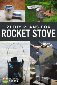 21 Diy Rocket Stove Plans To Cook Efficiently With Wood Diy Rocket Stove Diy Rocket Rocket Stoves