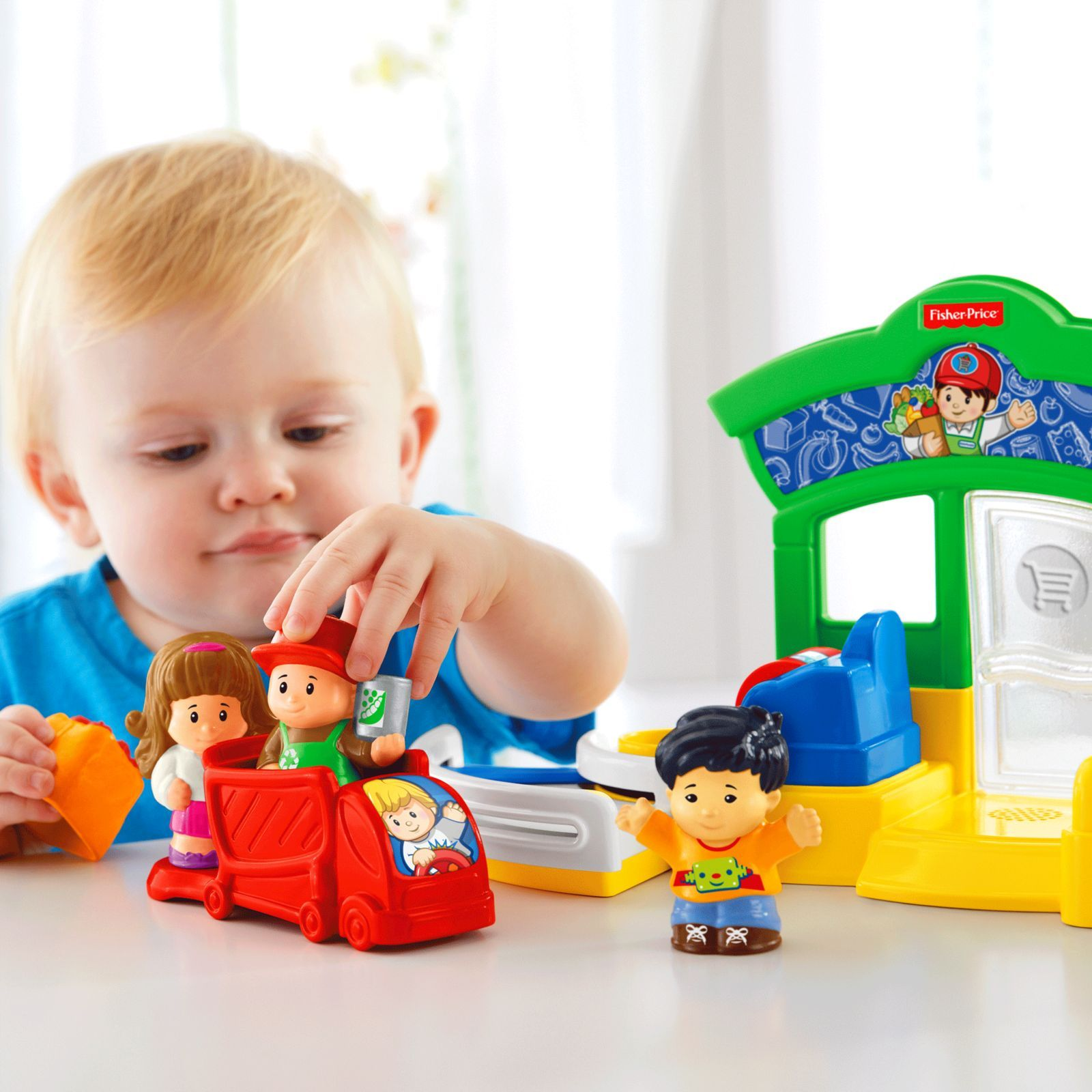 Little People® One Stop Grocery Shop | DFT64 | Fisher Price