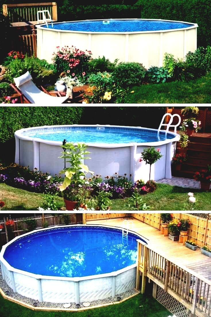 Pool Bezauberndes Bild Von Hinterhof-Dekoration-Design