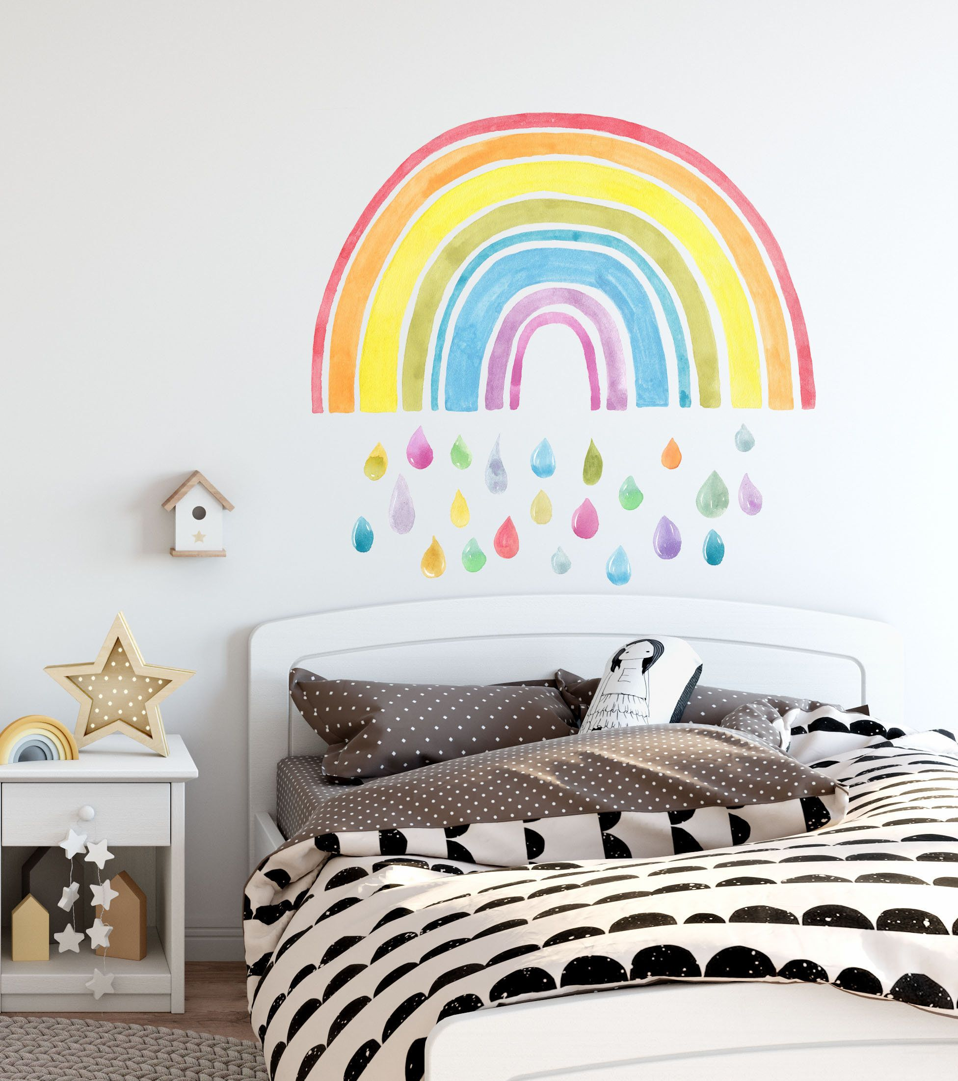 Rainbow Wall Decals Rainbow Wall Decor Rainbow Wall Sticker