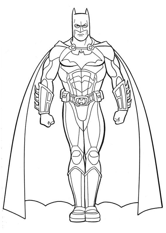 Great Site For Kids Coloring Pages Batman Para Colorear Batman